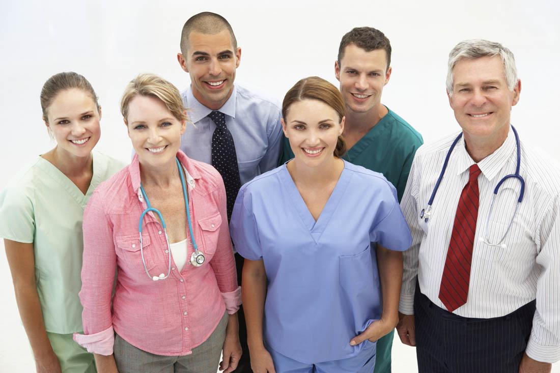 Allied health team